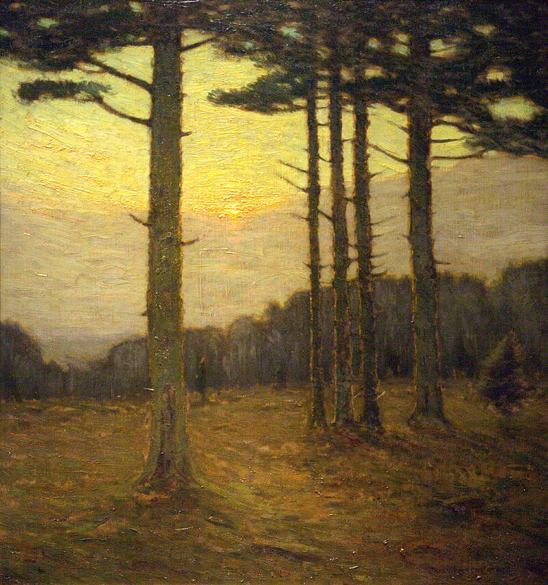 At Close of Day (ca. 1905 Oil on canvas)