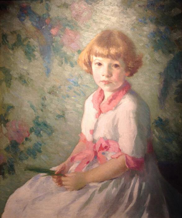 Elsie Mershon Wickes (1915 Oil on canvas)