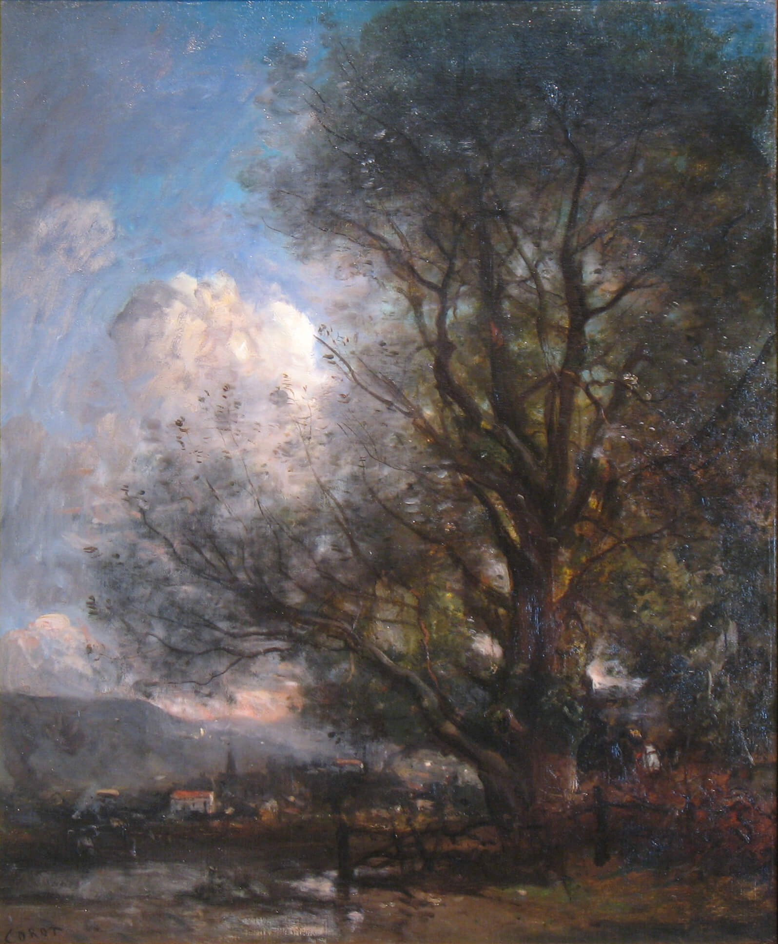 The Big Tree (1863 Oil on Canvas)
