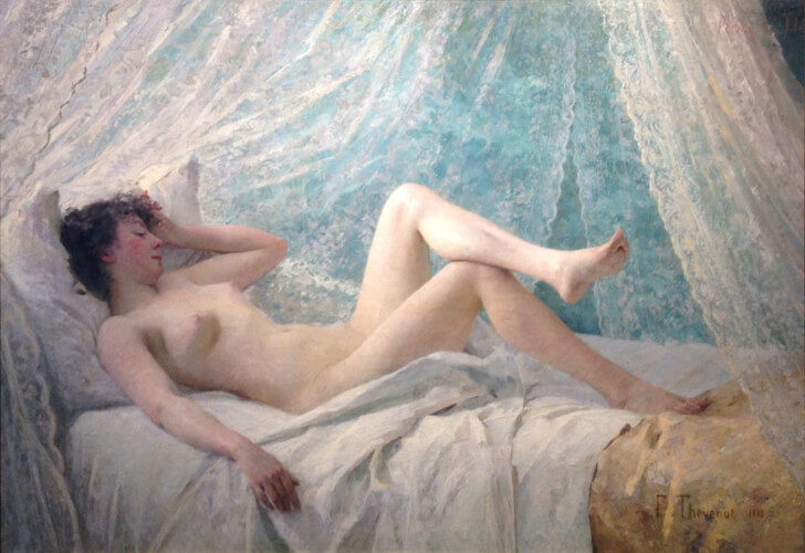 Reclining Nude (After Restoration)