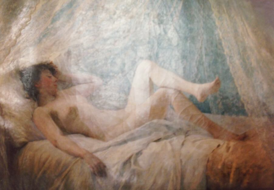 Reclining Nude (Before Restoration)